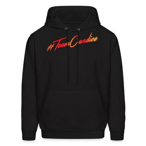 #TeamCandice Hoodie Black Men - Men's Hoodie