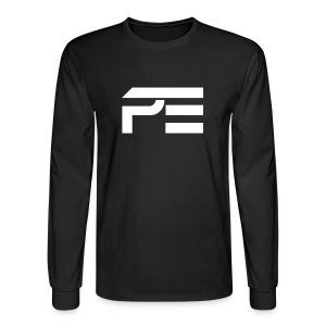 Praise eSports Mens Longsleeve White Logo  - Men's Long Sleeve T-Shirt