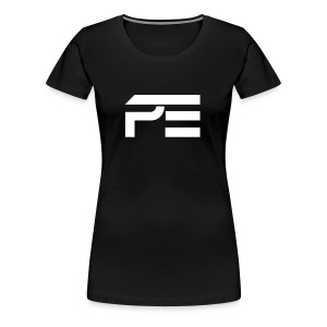 Praise eSports Womens T-Shirt White Logo  - Women's Premium T-Shirt