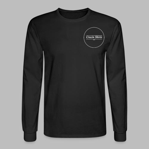 Cruzin Long-Sleeve shirt - Black - Men's Long Sleeve T-Shirt