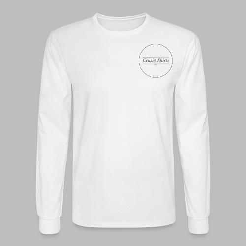 Cruzin Long-Sleeve shirt - White - Men's Long Sleeve T-Shirt