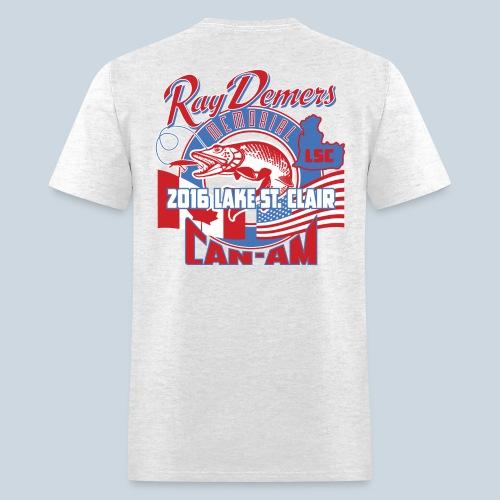 Ray Demers 2016 Can-Am Memorial Muskie Replica Tee - Men's T-Shirt
