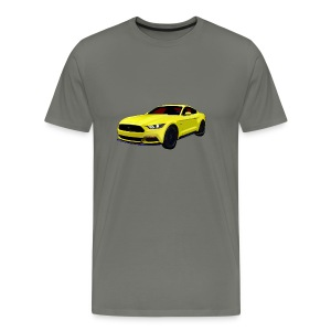 2014 Mustang Men Regular & Big - Men's Premium T-Shirt