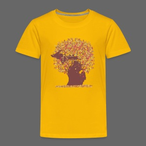 Michigan Autumn Tree Shirt - Toddler Premium T-Shirt