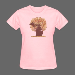 Michigan Autumn Tree Shirt - Women's T-Shirt