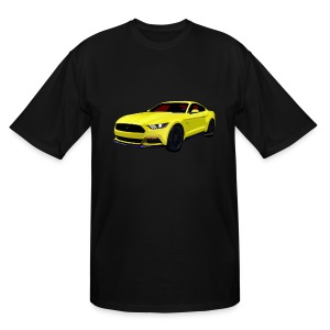 2014 Mustang Men Big & Tall - Men's Tall T-Shirt