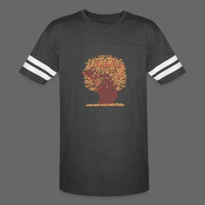 Michigan Autumn Tree Shirt - Vintage Sport T-Shirt