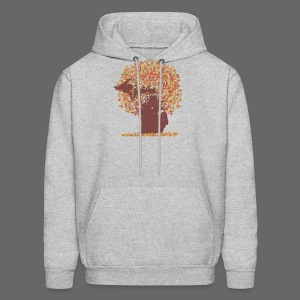 Michigan Autumn Tree Shirt - Men's Hoodie