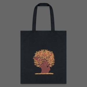Michigan Autumn Tree - Tote Bag