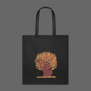 Michigan Autumn Tree - Tote Bag
