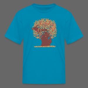 Michigan Autumn Tree - Kids' T-Shirt