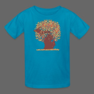 Michigan Autumn Tree - Kids' T-Shirt