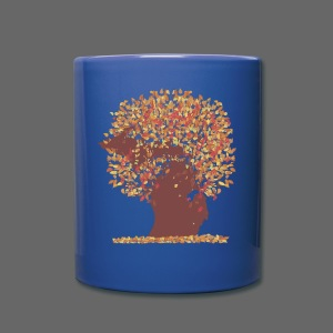 Michigan Autumn Tree Shirt - Full Color Mug