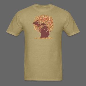 Michigan Autumn Tree Shirt - Men's T-Shirt
