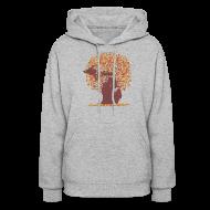 Hoodies ~ Women's Hoodie ~ Michigan Autumn Tree Shirt