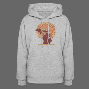 Michigan Autumn Tree Shirt - Women's Hoodie