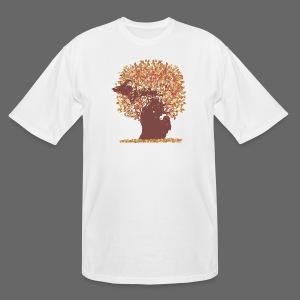 Michigan Autumn Tree Tall Tee - Men's Tall T-Shirt