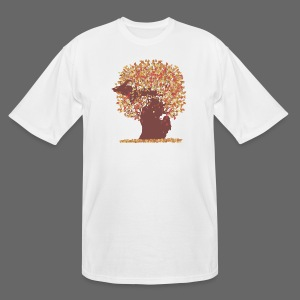 Michigan Autumn Tree Tall Tee - Men's Tall T-Shirt