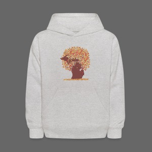 Michigan Autumn Tree Shirt - Kids' Hoodie