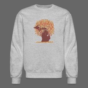 Michigan Autumn Tree - Crewneck Sweatshirt