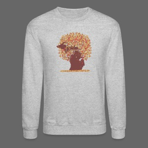 Michigan Autumn Tree - Crewneck Sweatshirt