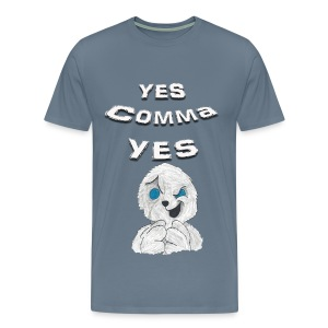 Puppet Devall Yes Comma Yes Mens Premium T-Shirt - Men's Premium T-Shirt