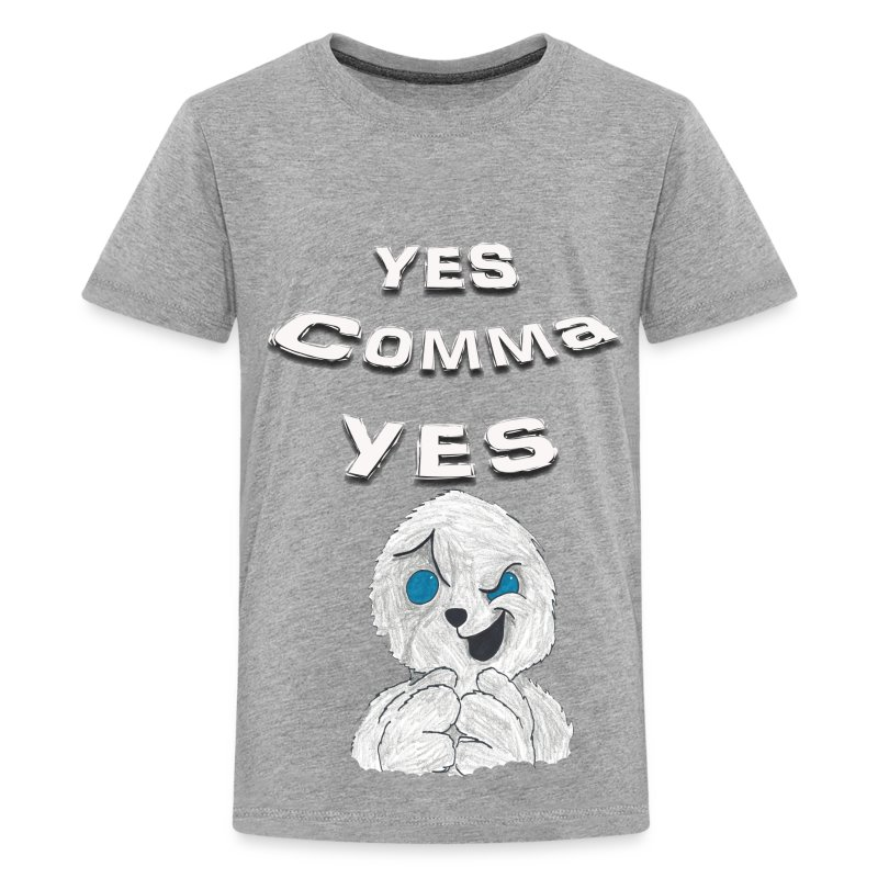 Puppet Devall Yes Comma Yes Kids Premium T-Shirt - Kids' Premium T-Shirt