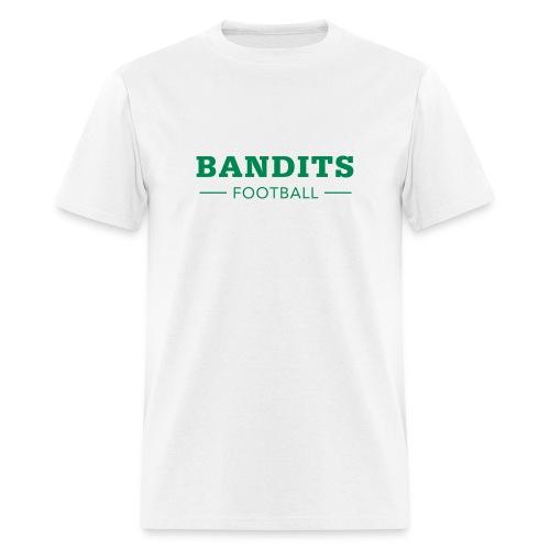 Men's Bandits Football in White - Men's T-Shirt