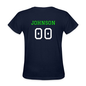 Your Name & Number - Customizable Ladies Tee - Women's T-Shirt
