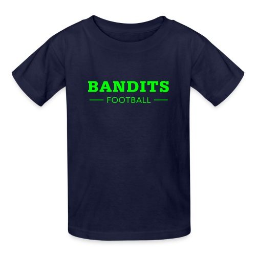 Kid's Navy & Neon - Kids' T-Shirt