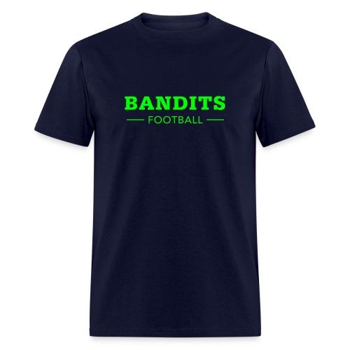 Men's Navy & Neon - Men's T-Shirt
