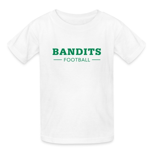 Kid's Bandits Football in White - Kids' T-Shirt