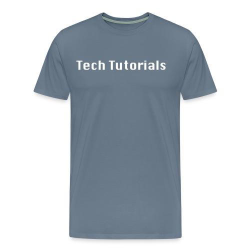 Men's Tech Tutorials T-Shirt - Men's Premium T-Shirt
