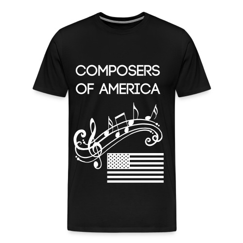 Composers of America T-Shirt - Men's Premium T-Shirt