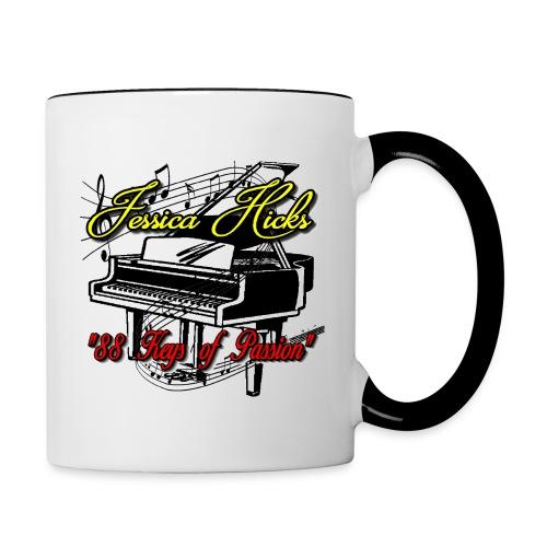 Double Sided Coffee Mug - Contrast Coffee Mug
