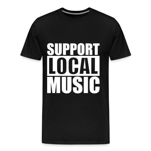 Support Local Music T-Shirt - Men's Premium T-Shirt