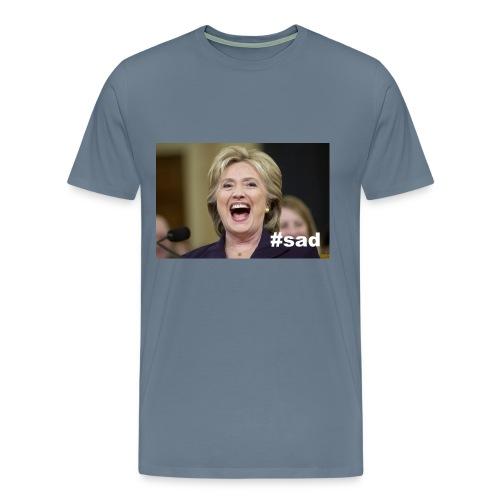 AMERICA's FAVORITE: #sad - Men's Premium T-Shirt
