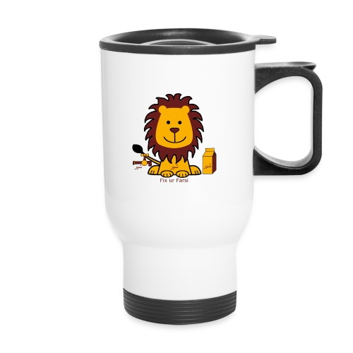 milk,lion,faucet - Travel Mug