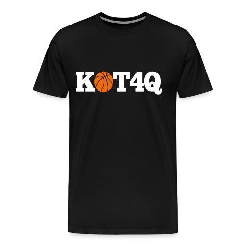 Limited Black and Orange KOT4Q Shirt - Men's Premium T-Shirt