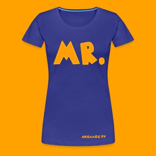 MR. T-Shirt Original (Womens) - Women's Premium T-Shirt