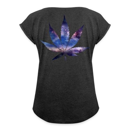 WOMENS T-SHIRT - Women's Roll Cuff T-Shirt