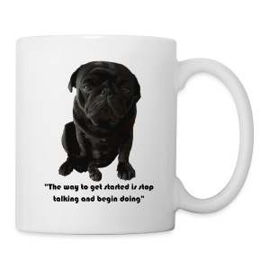 Otis gets you started in the morning - Coffee/Tea Mug