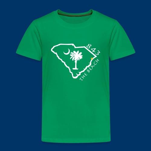 843 The Beach T - Toddler - Toddler Premium T-Shirt