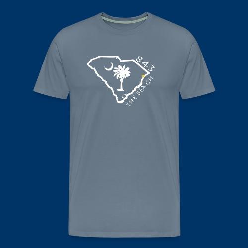 843 The Beach T - Mens - Men's Premium T-Shirt