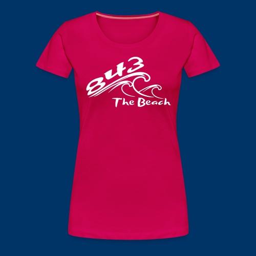 843 Wave T - Womens - Women's Premium T-Shirt