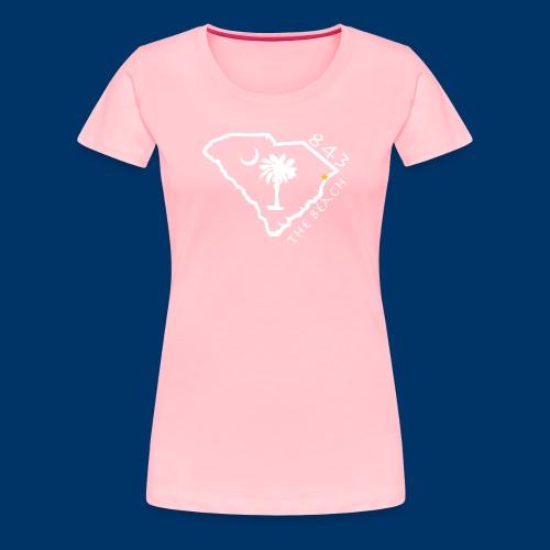 843 The Beach T - Women - Women's Premium T-Shirt