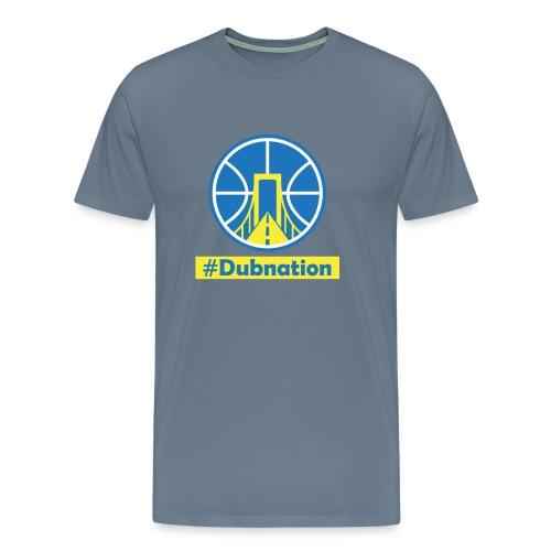 GSW Dubnation Men Organic T-Shirt - Men's Premium T-Shirt