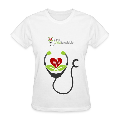CANAL VIDA SALUDABLE: T-Shirt Para Mujeres - Women's T-Shirt