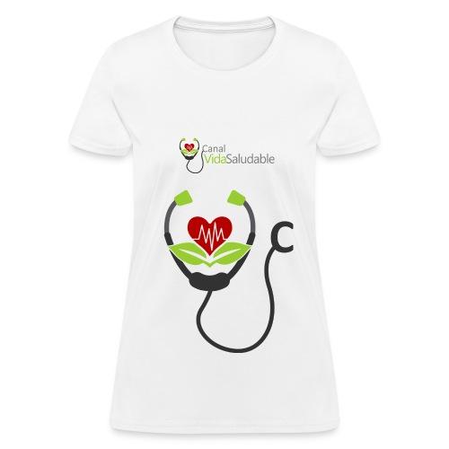 CANAL VIDA SALUDABLE: T-Shirt Para Mujeres - Women's T-Shirt