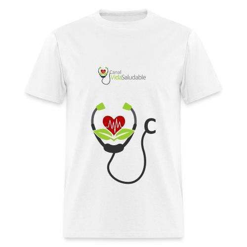 CANAL VIDA SALUDABLE: T-Shirt Para Hombres - Men's T-Shirt